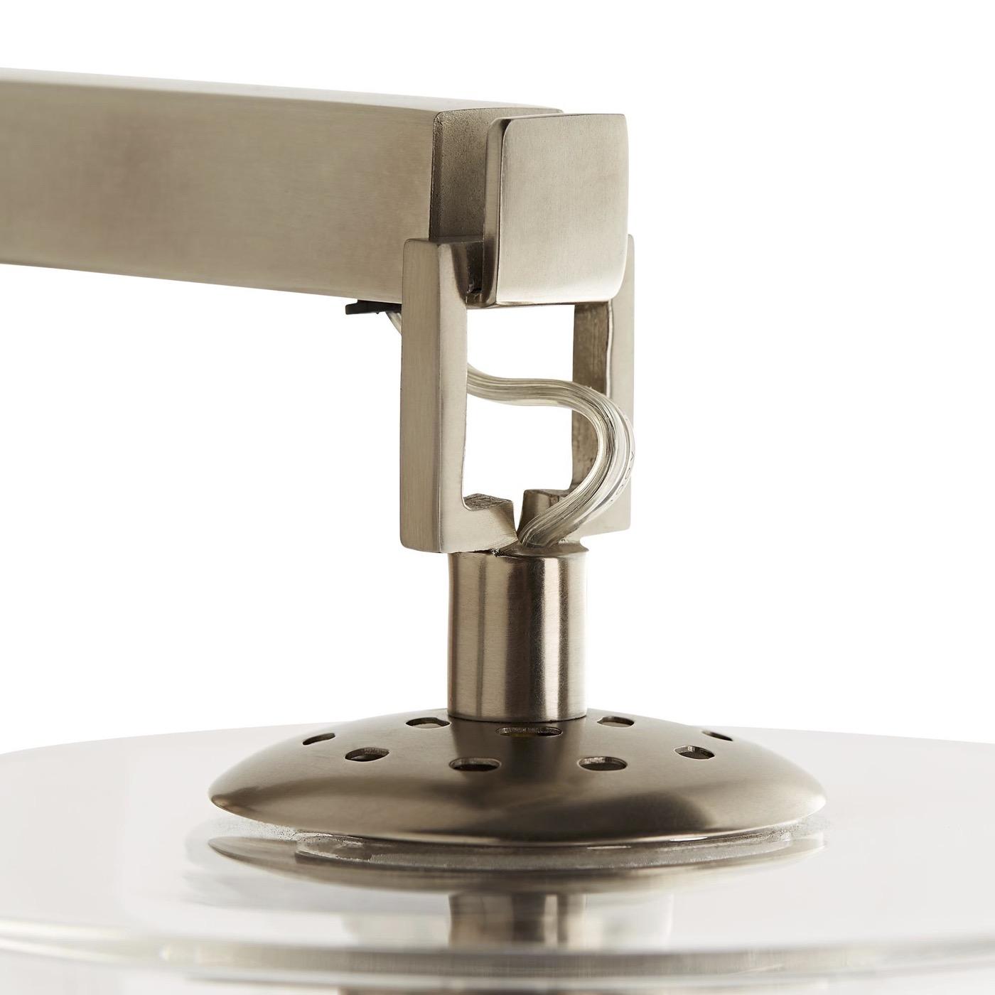 Bravado Iron Sconce | Antique Silver