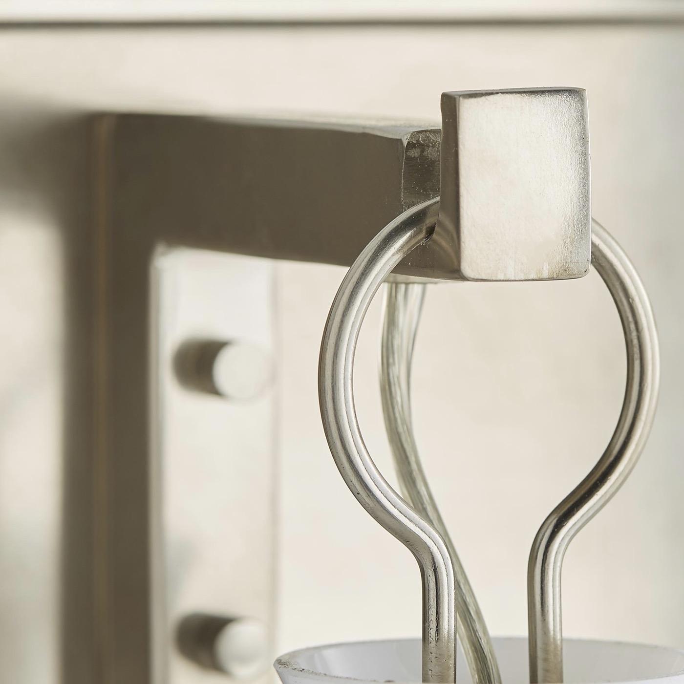 Edison 3-Light Vanity Fixture | Antique Silver