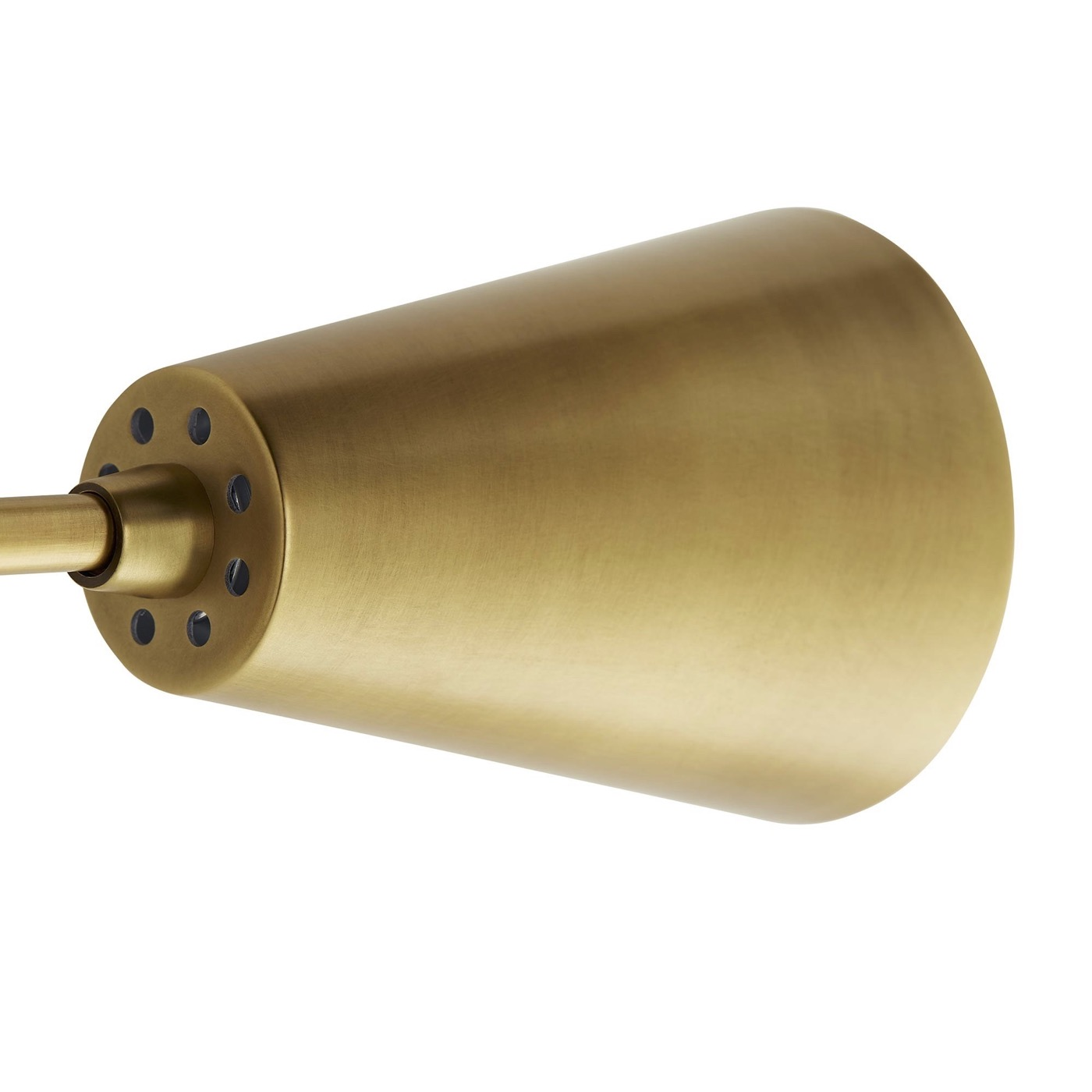 Fitzgerald Double Sconce   Brass