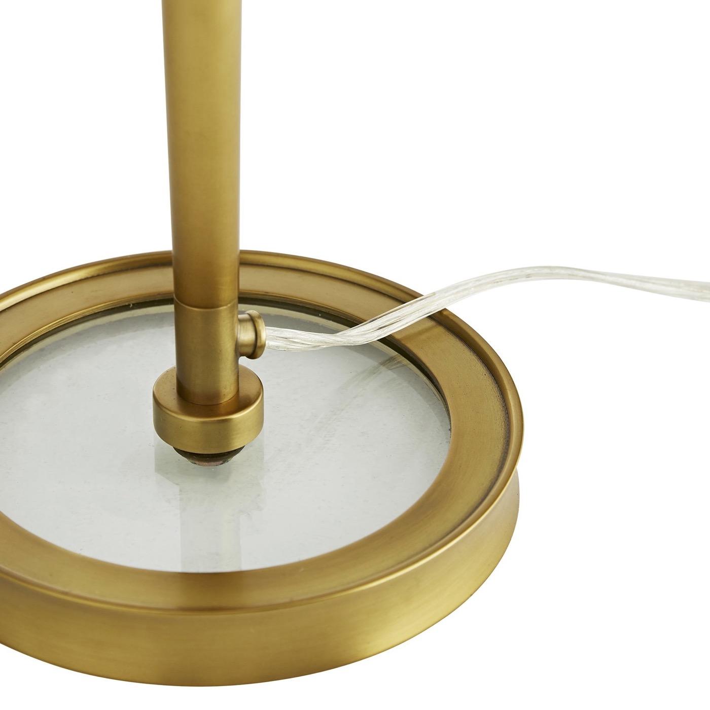 Laxon Table Lamp | Antique Brass