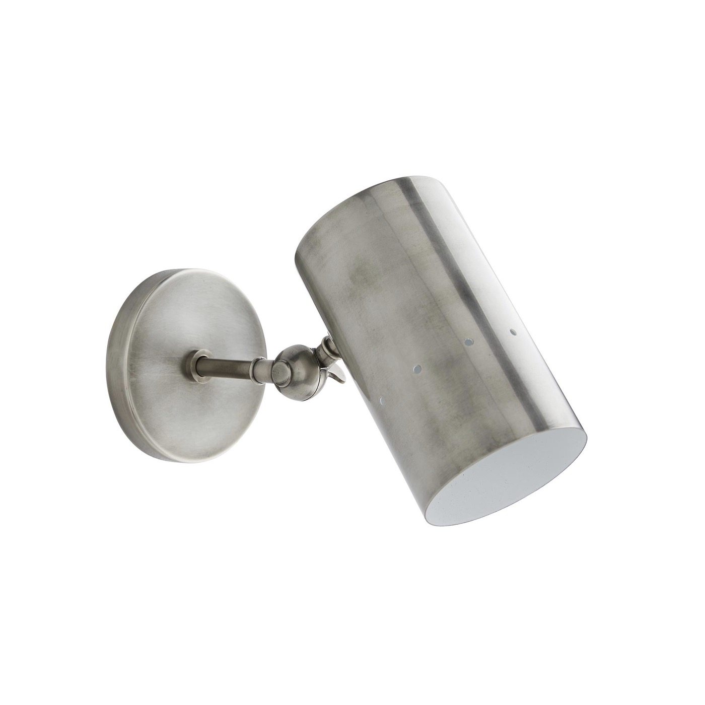 Wendall Sconce   Antique Silver