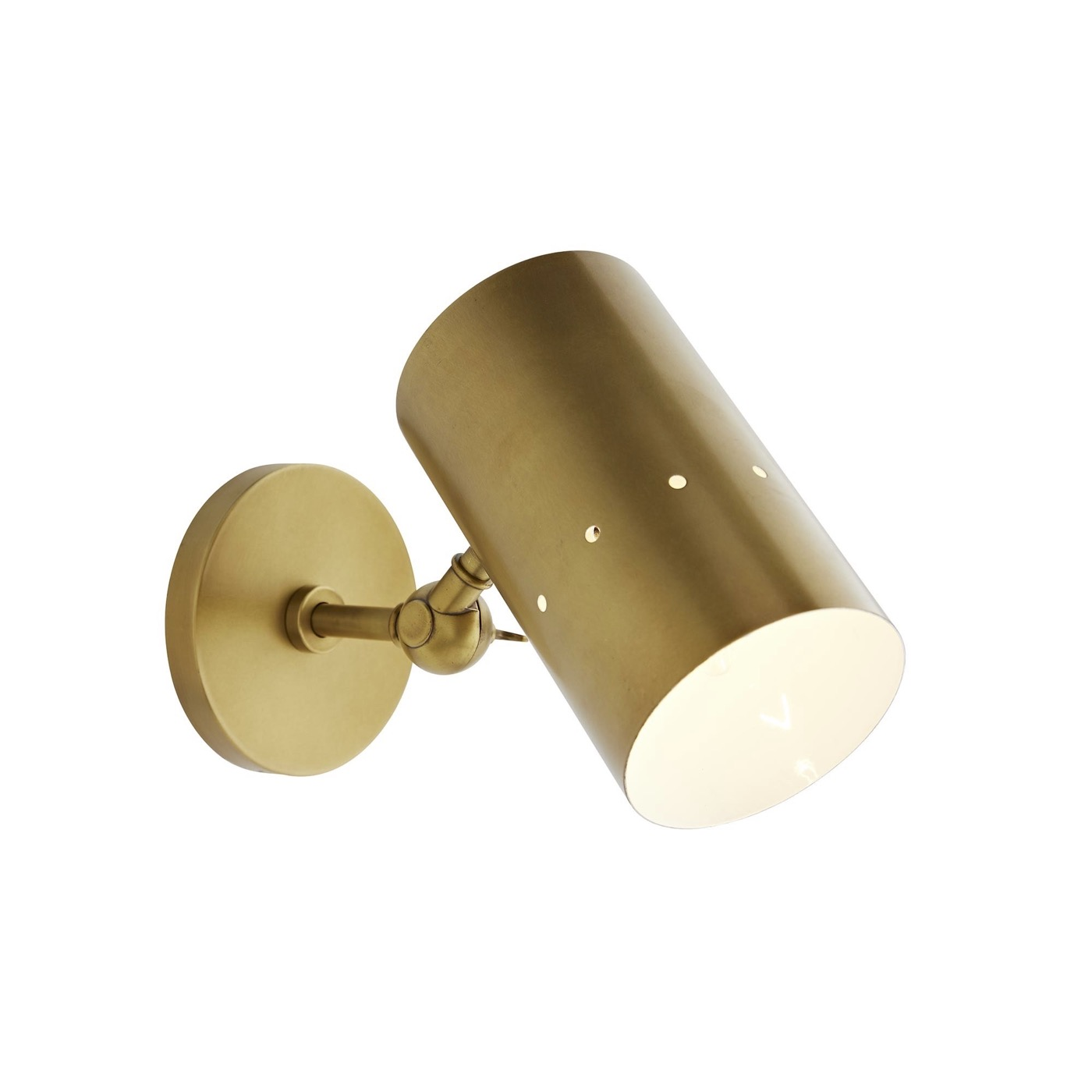 Wendall Sconce   Antique Brass