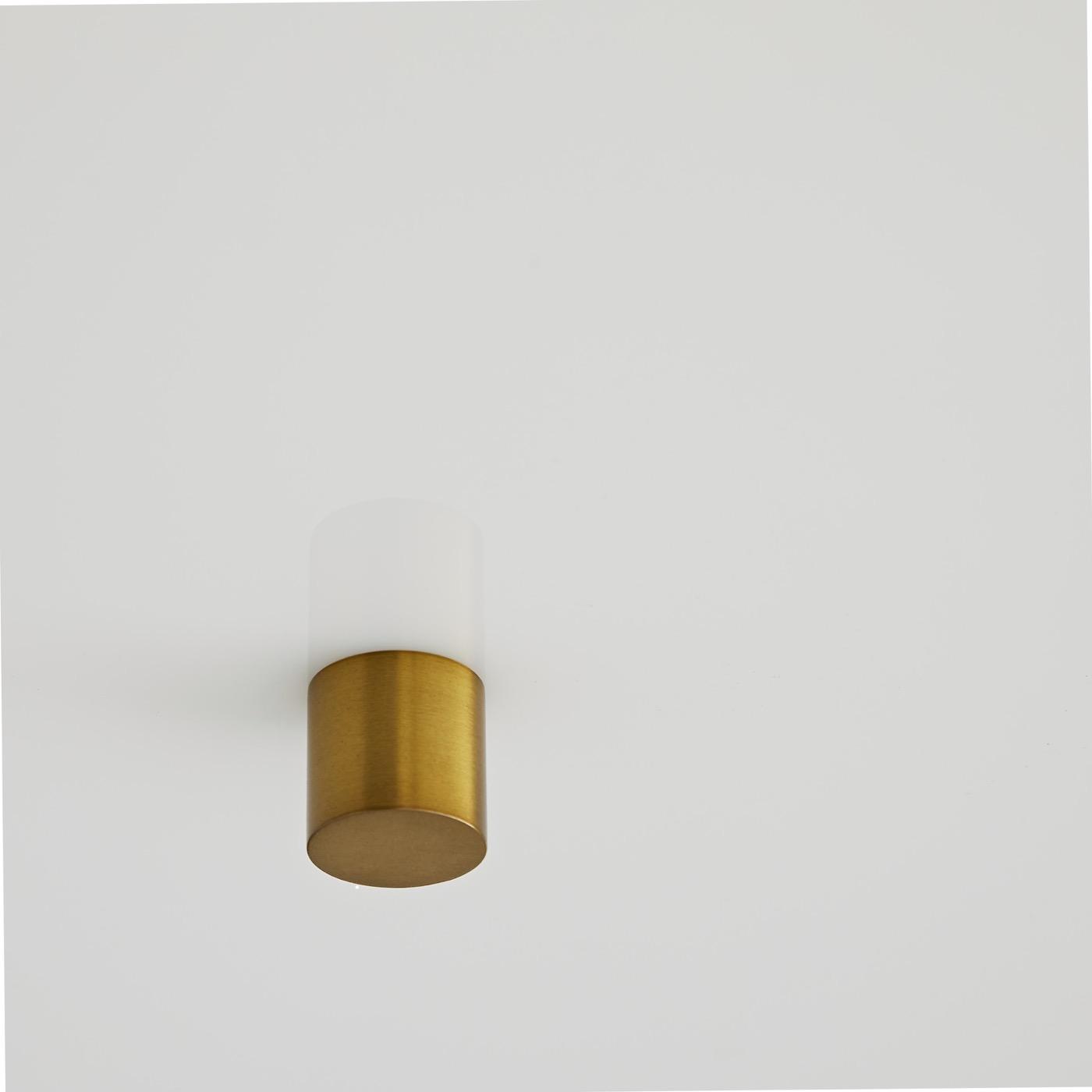 Darso Semi-Flush Mount | Antique Brass