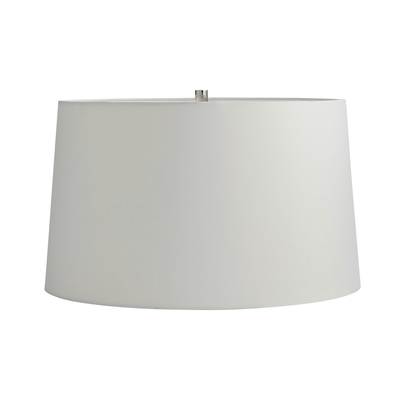 Augusta Glass Table Lamp | Nickel