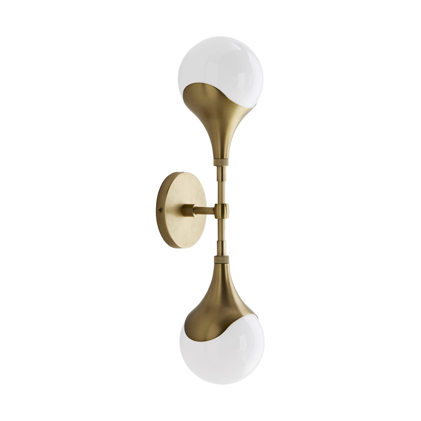 Marzo Sconce | Antique Brass