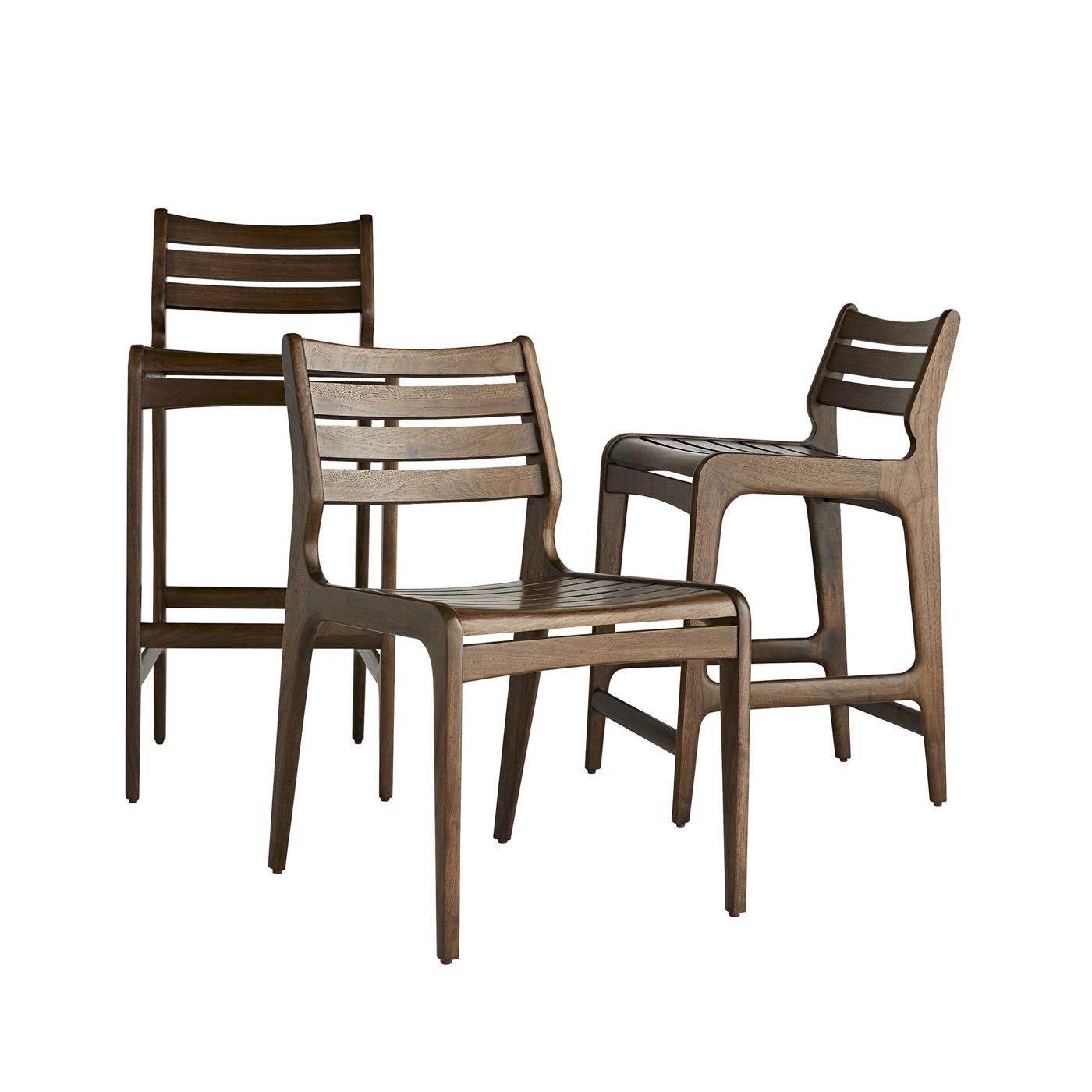 Ritter Walnut Chair