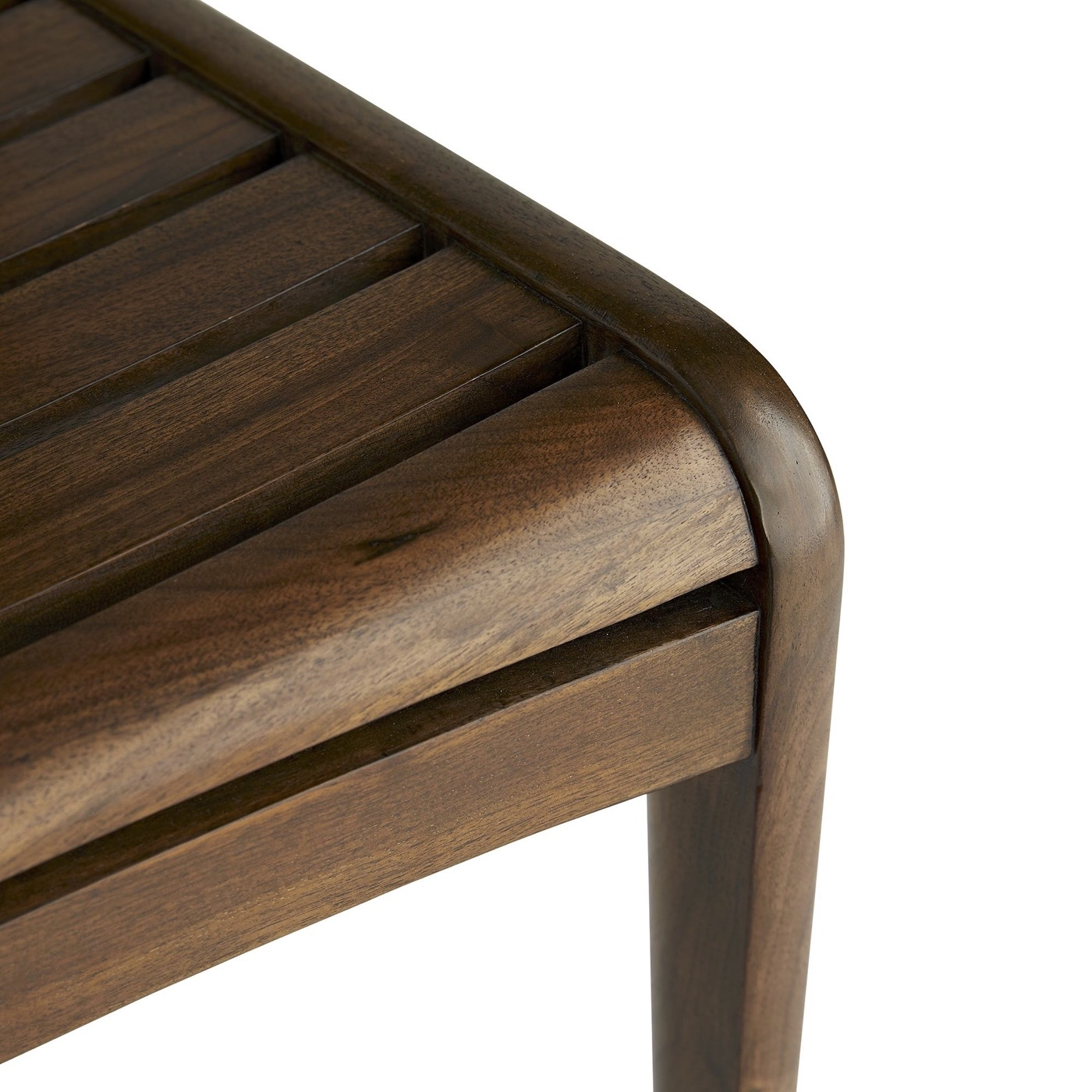 Ritter Walnut Bar Stool | Counter Height
