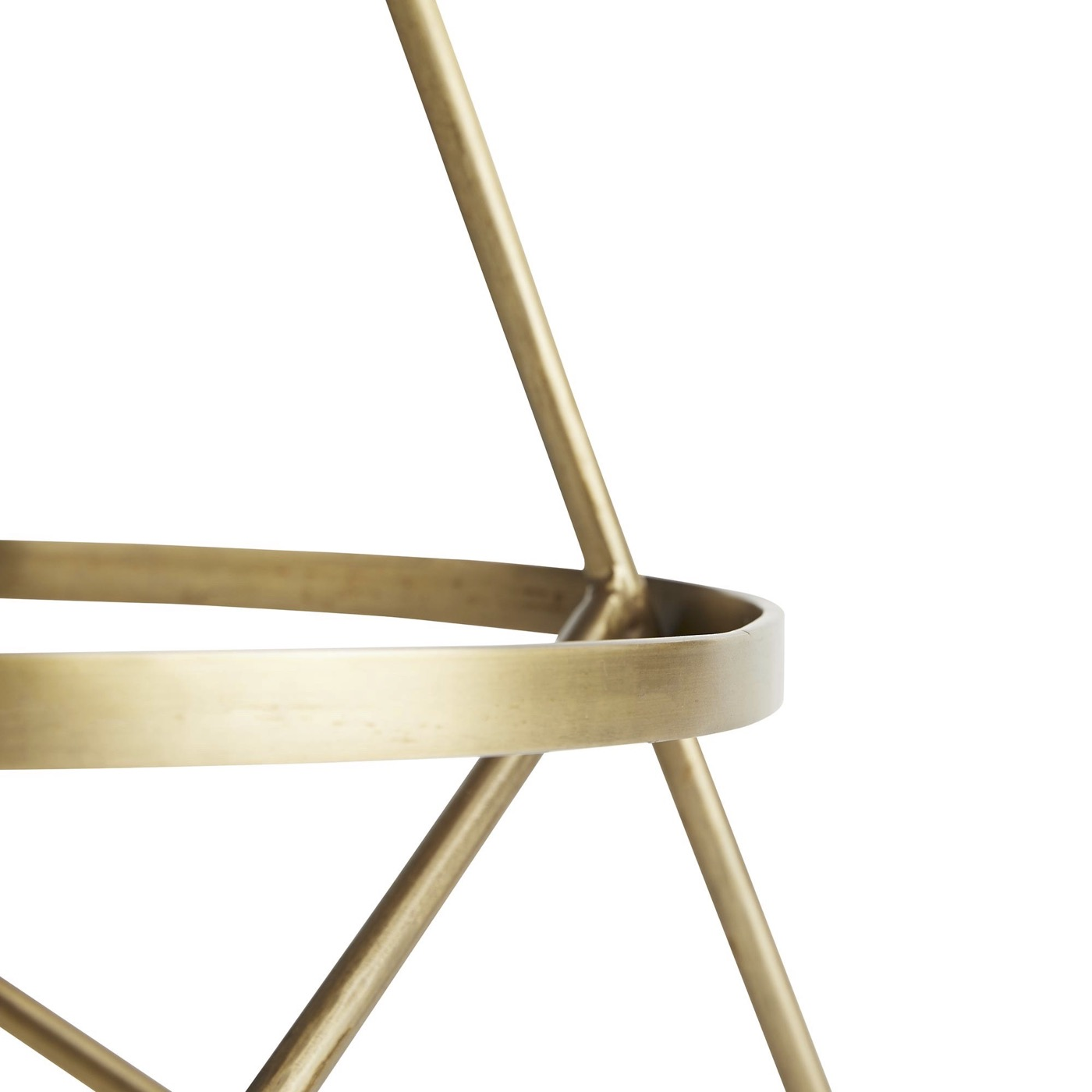 Whitworth Counter Stool | Brass