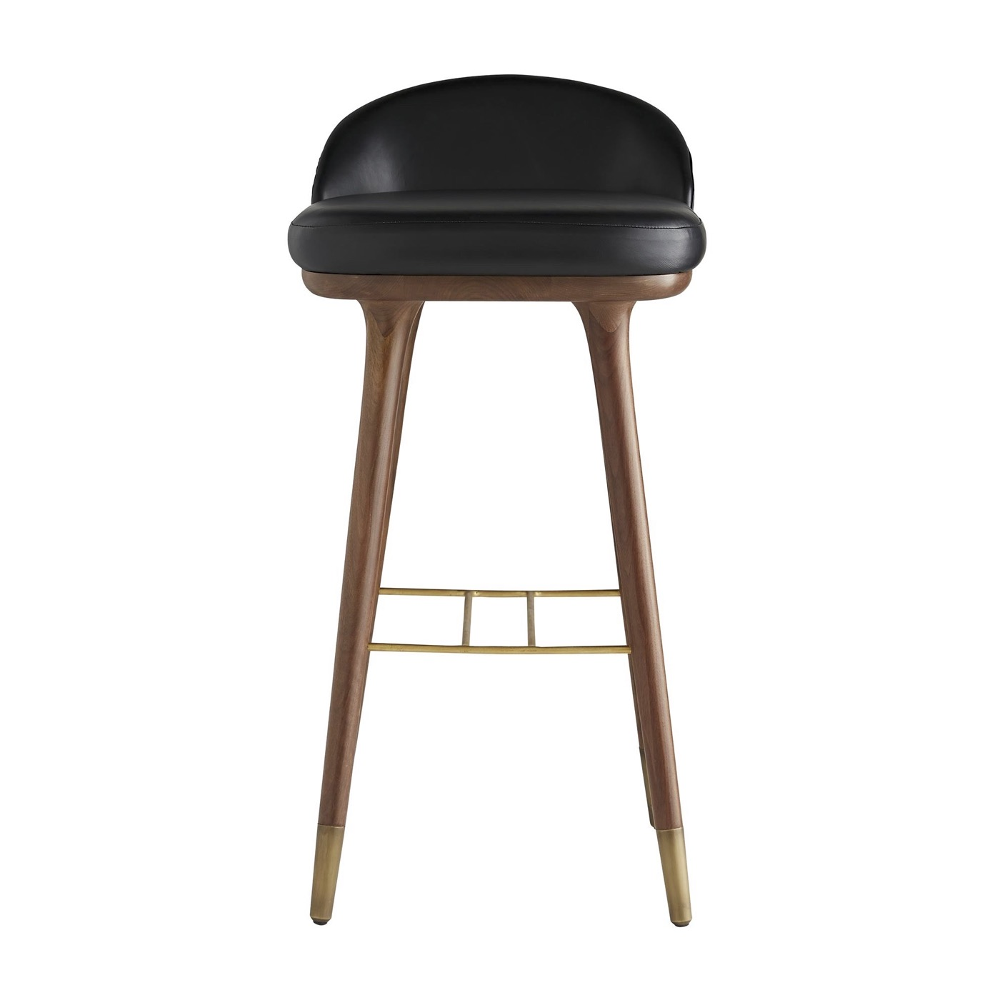 Willard Leather Bar Stool | Bar Height