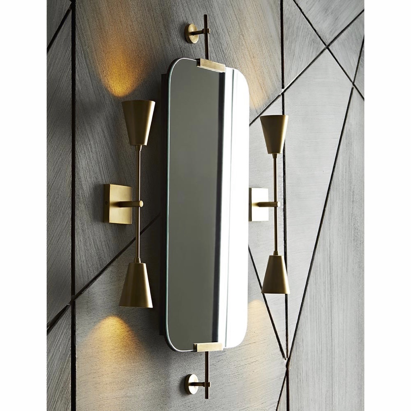 "Antonio ""Floating"" Wall Mirror 
