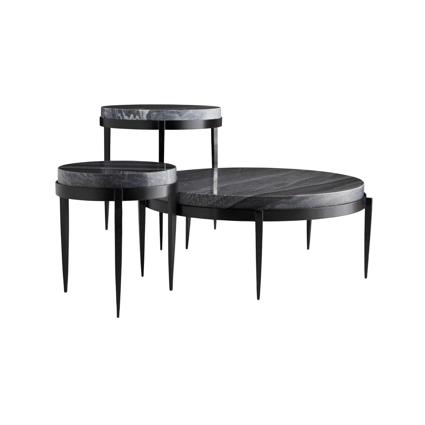 Apollo Coffee Table | Black Marble