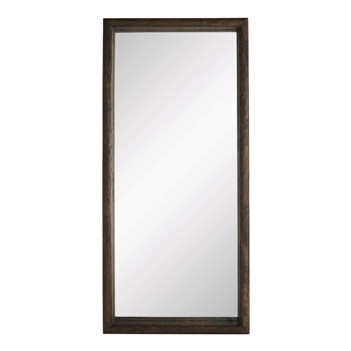 Bandito Walnut Floor Mirror