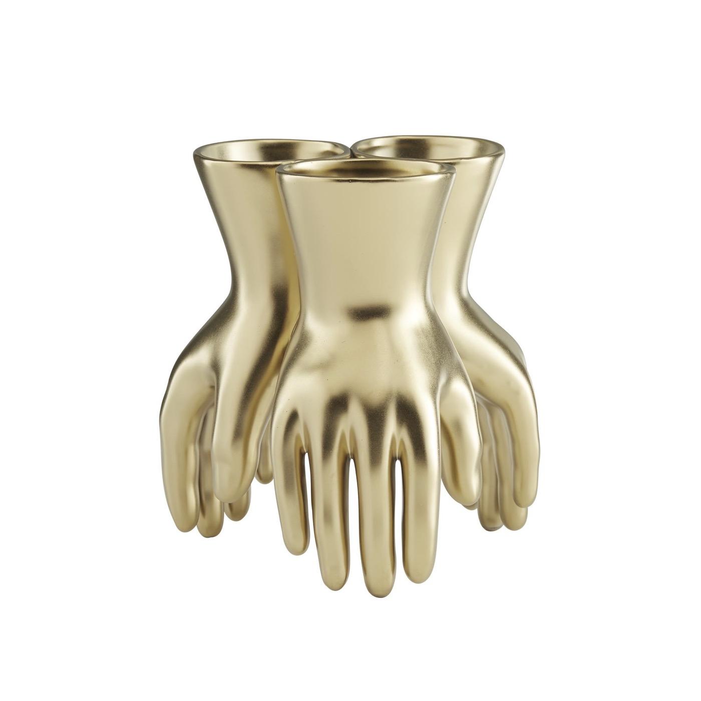 Piedmont Golden Hands Vase