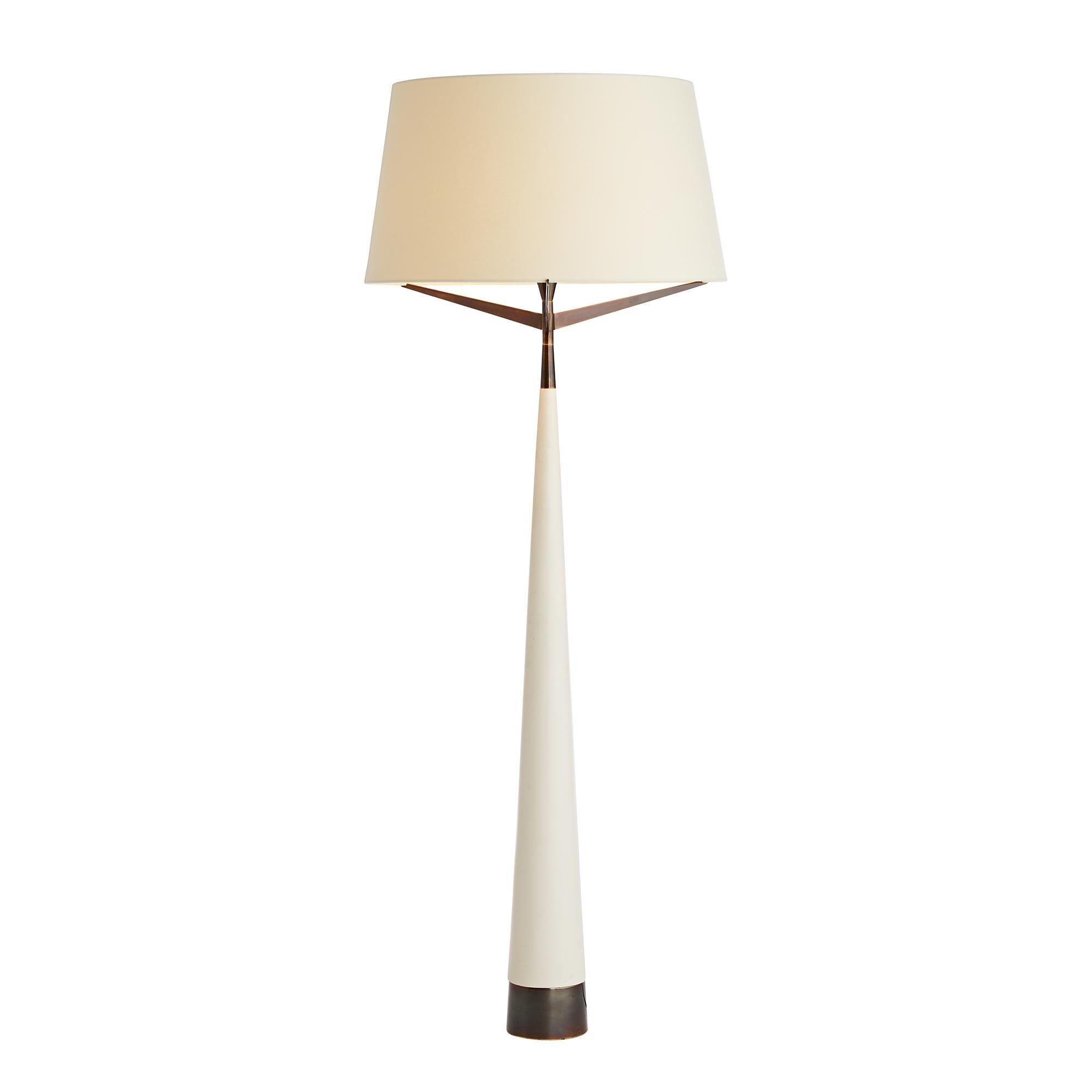 Kiran Floor Lamp | Ivory