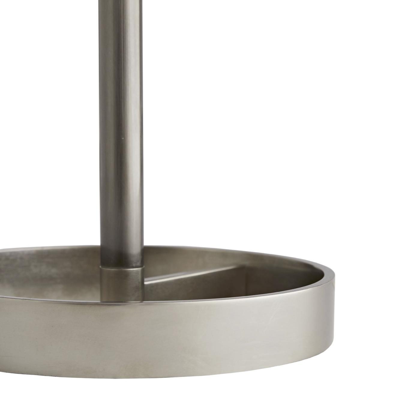Audra Floor Lamp | Antique Silver