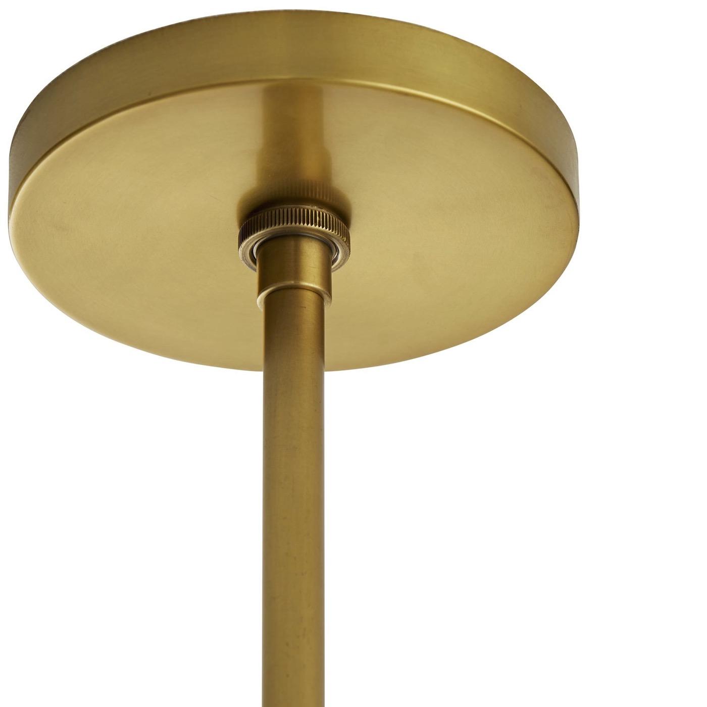 Baze Chandelier | Bronze & Brass