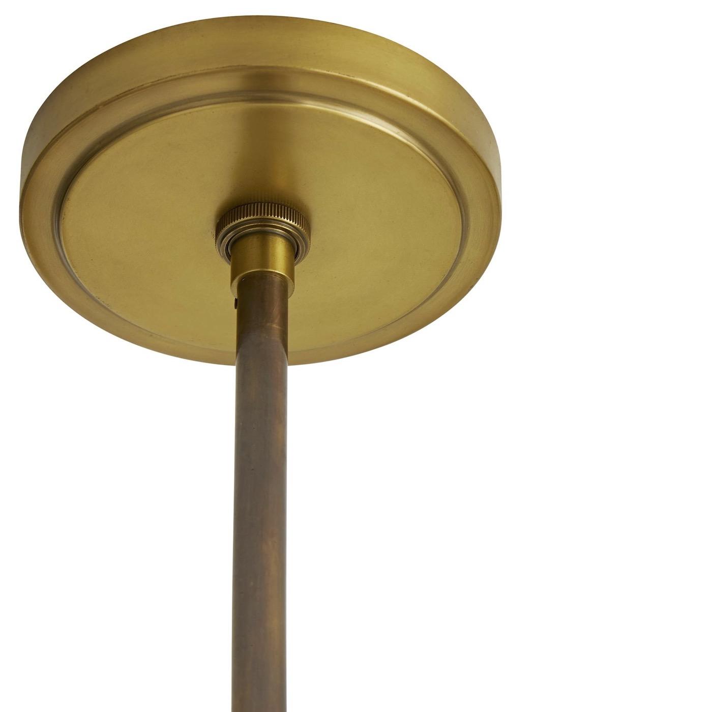 Remmy Chandelier   Burnished Brass