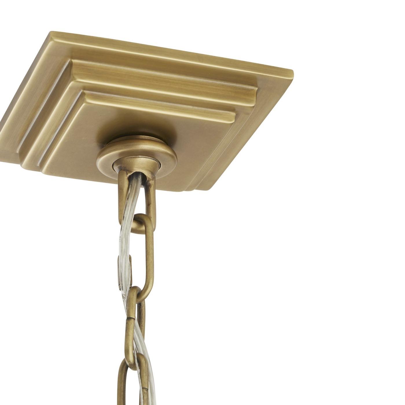 Eduardo Chandelier | Antique Brass