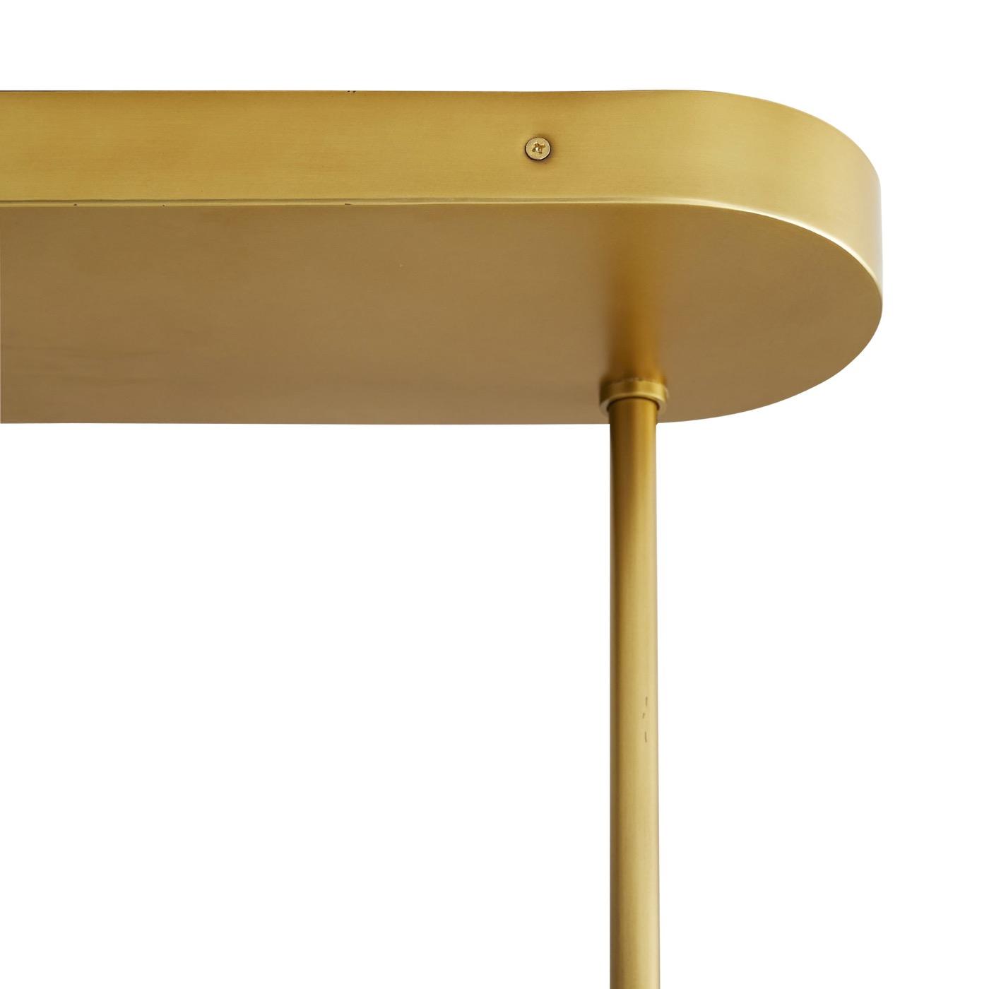 Boltman Brass Chandelier | Linear