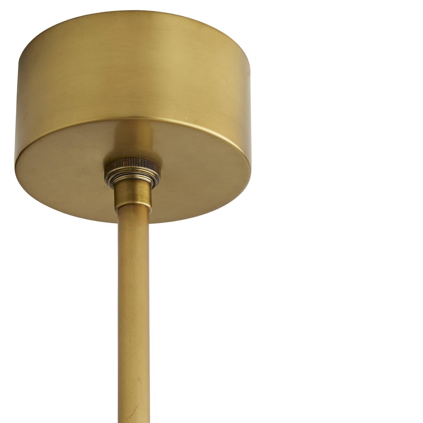 Chadwick Chandelier   Antique Brass