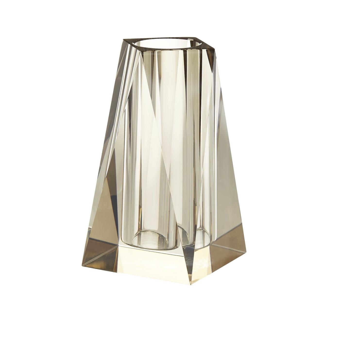 Carat Crystal Vase | Warm