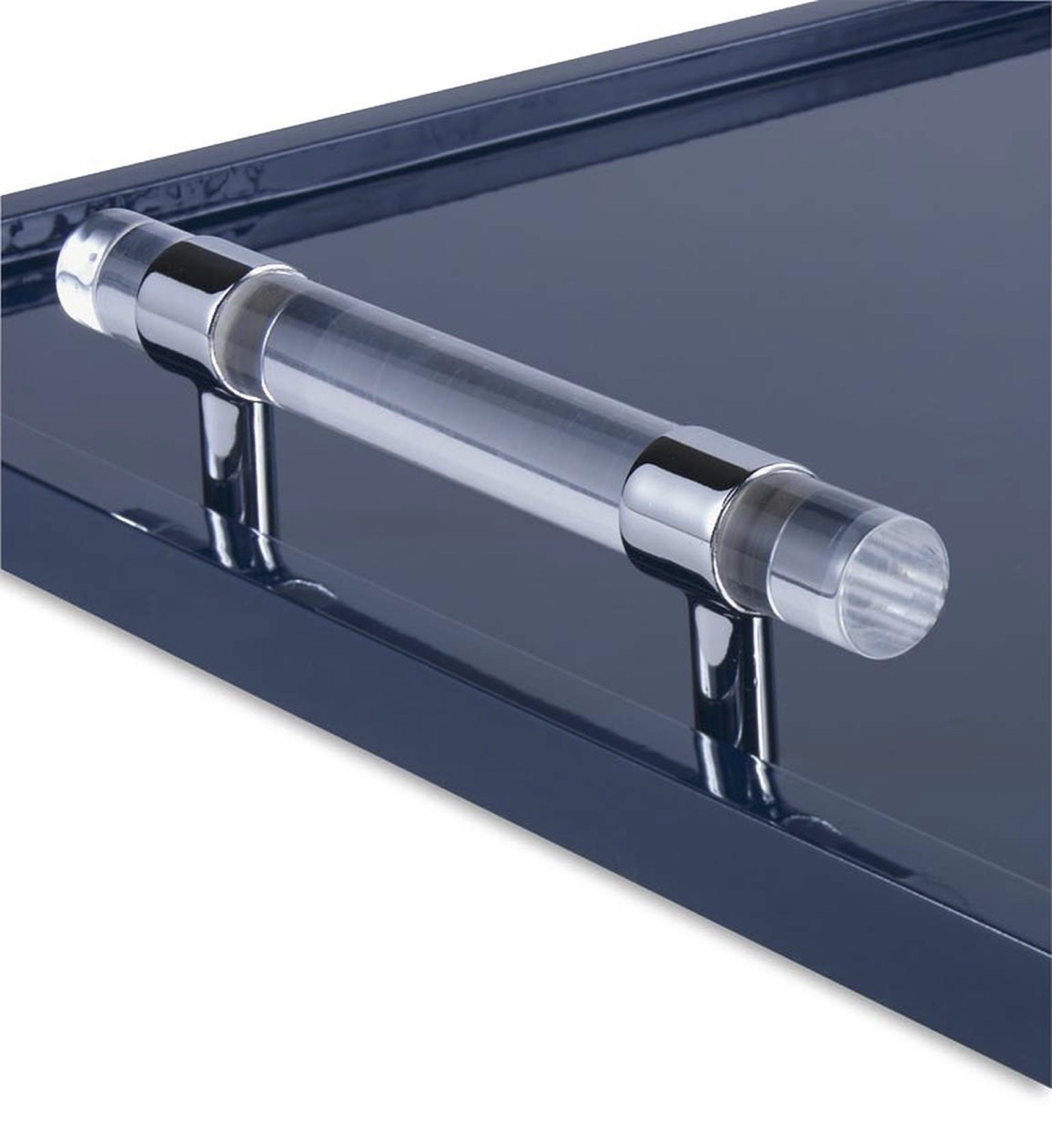 Wallace Lacquered Tray | Blue