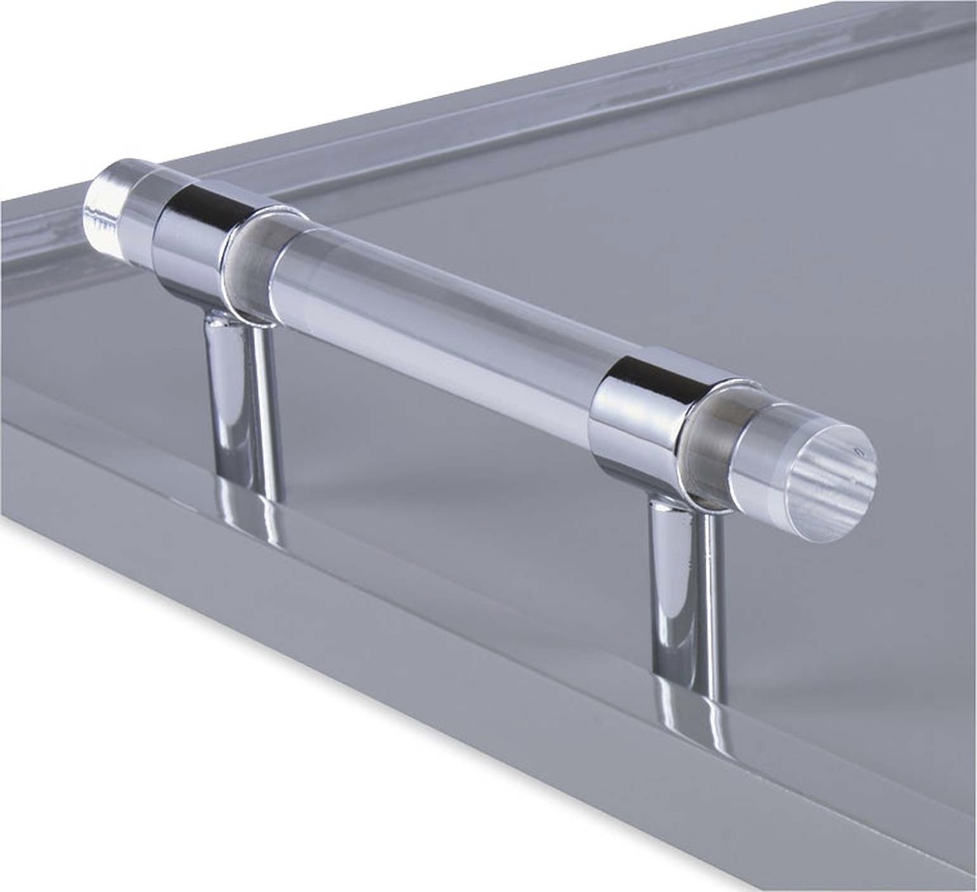 Wallace Lacquered Tray | Grey