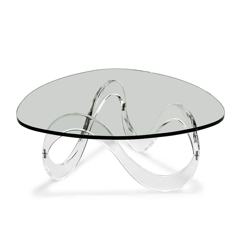Rollins Acrylic Coffee Table