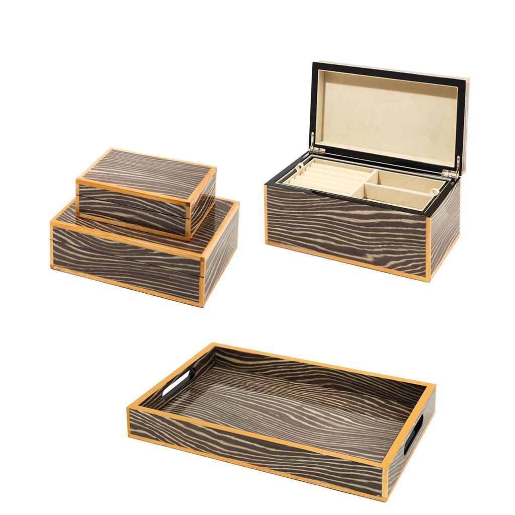 Kamuri Lacquer Jewelry Box | Light