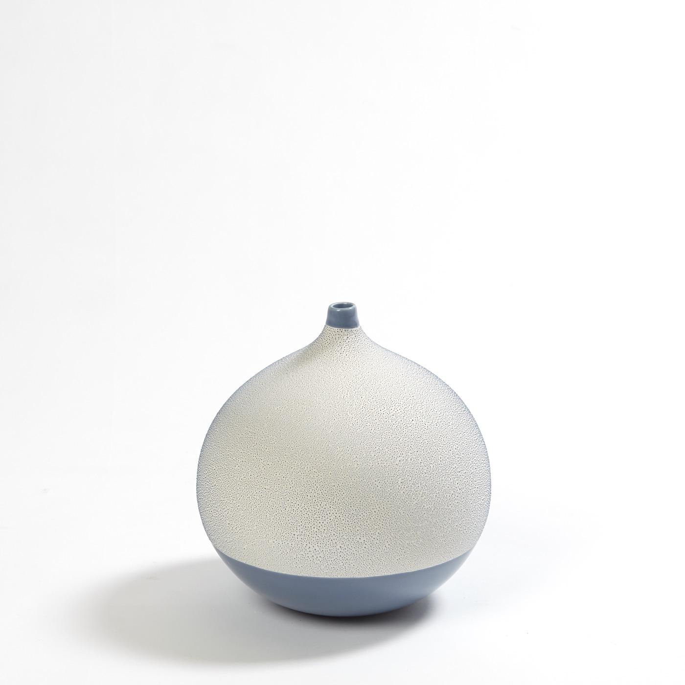 Lombardi Ceramic Vases   Blue