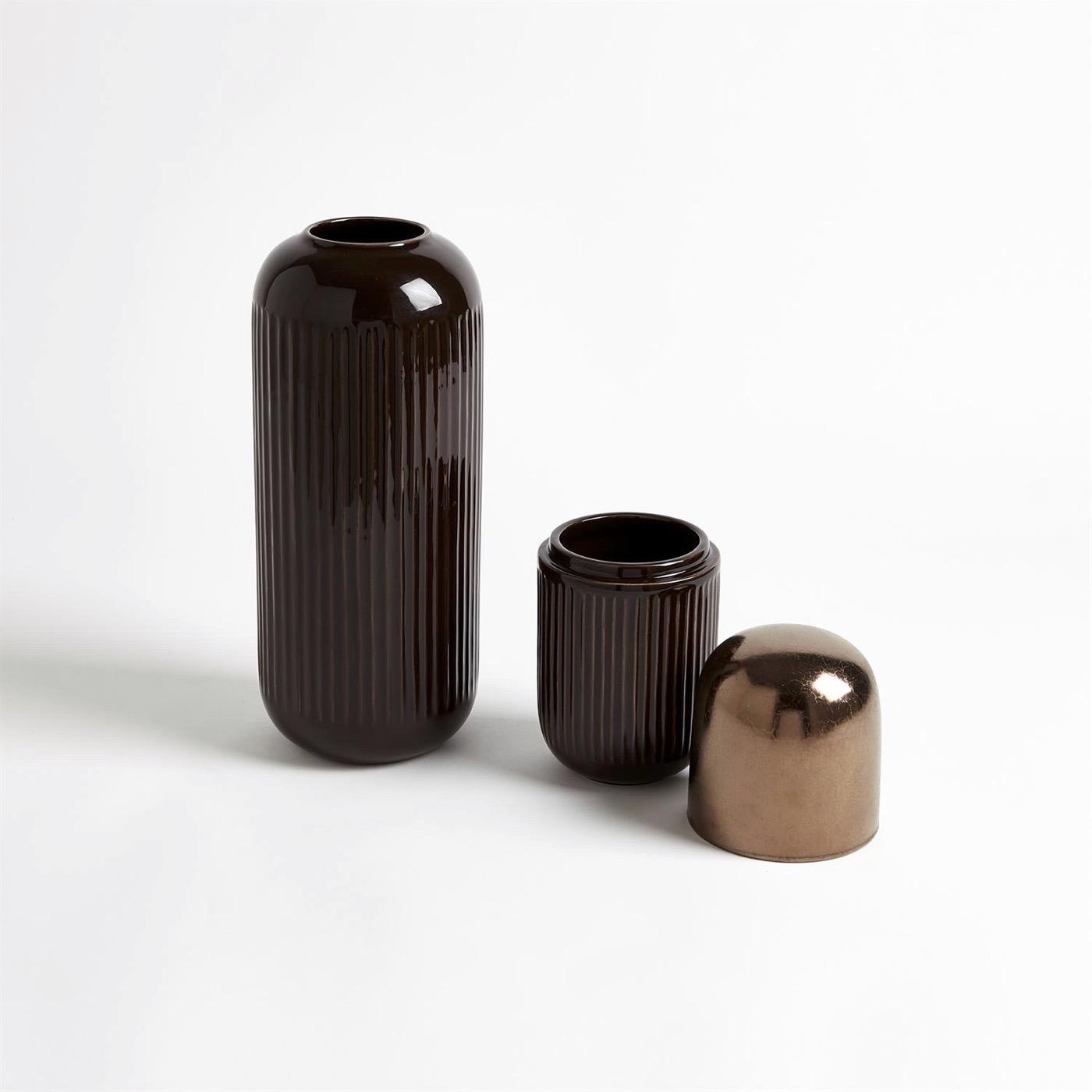 Medici Lidded Ceramic Jar