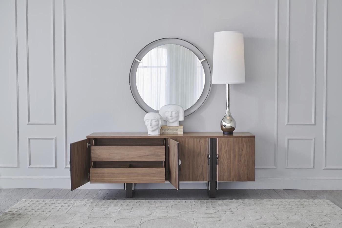 Holtz Walnut Cabinet