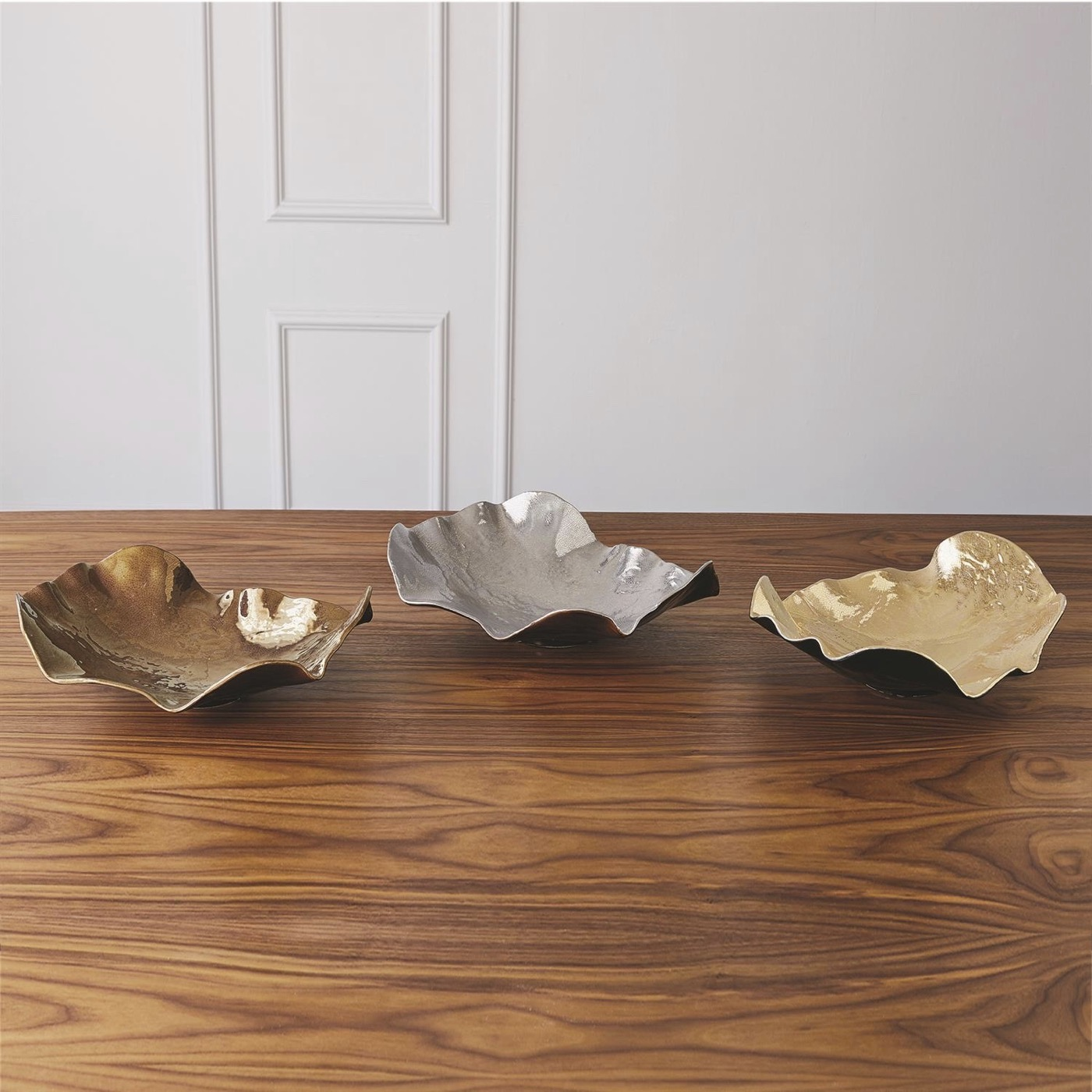 Ruffalo Ceramic Bowl | Bronze