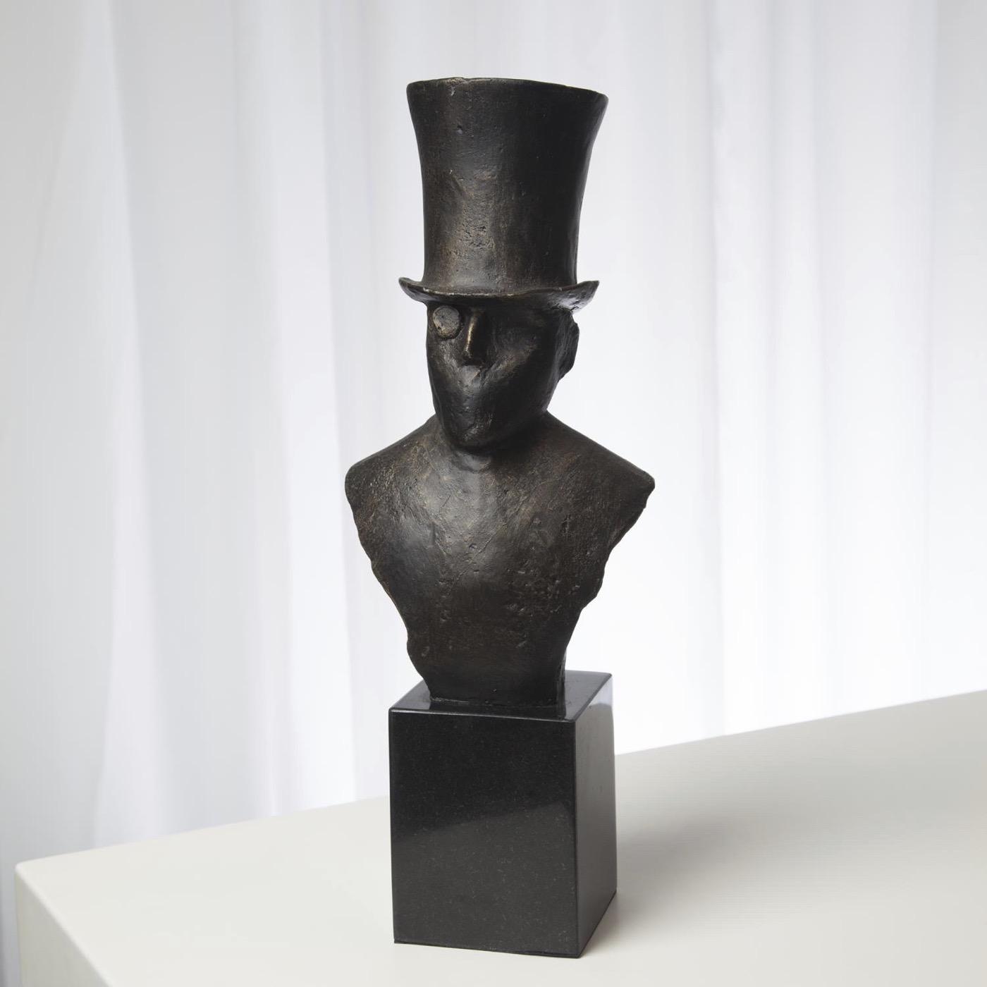 Gentlemen Bust Sculptures
