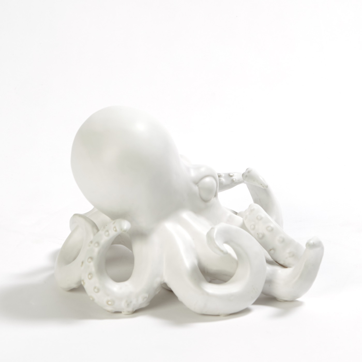 Verne Octopus Object   White