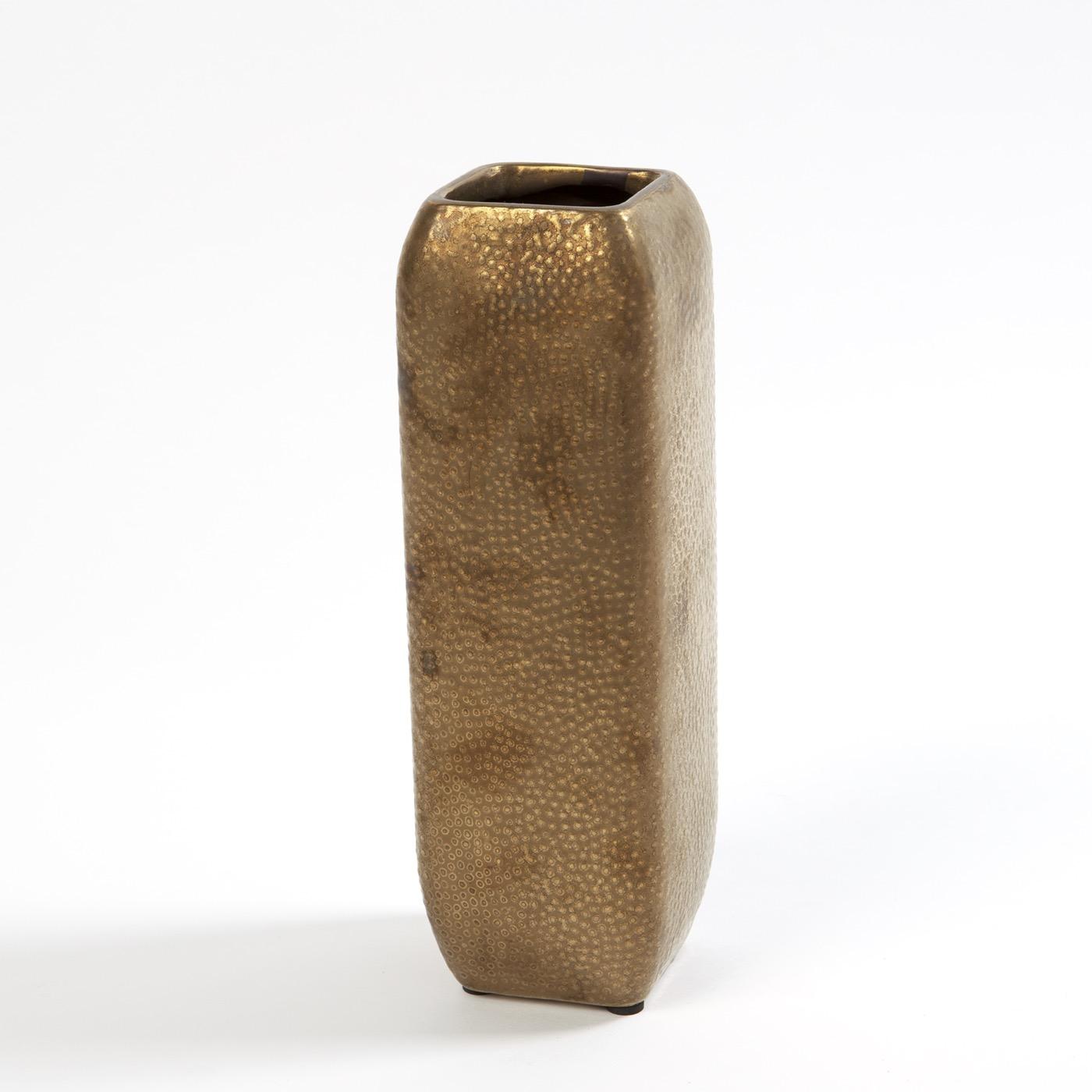 Dean Hammered Ceramic Vases
