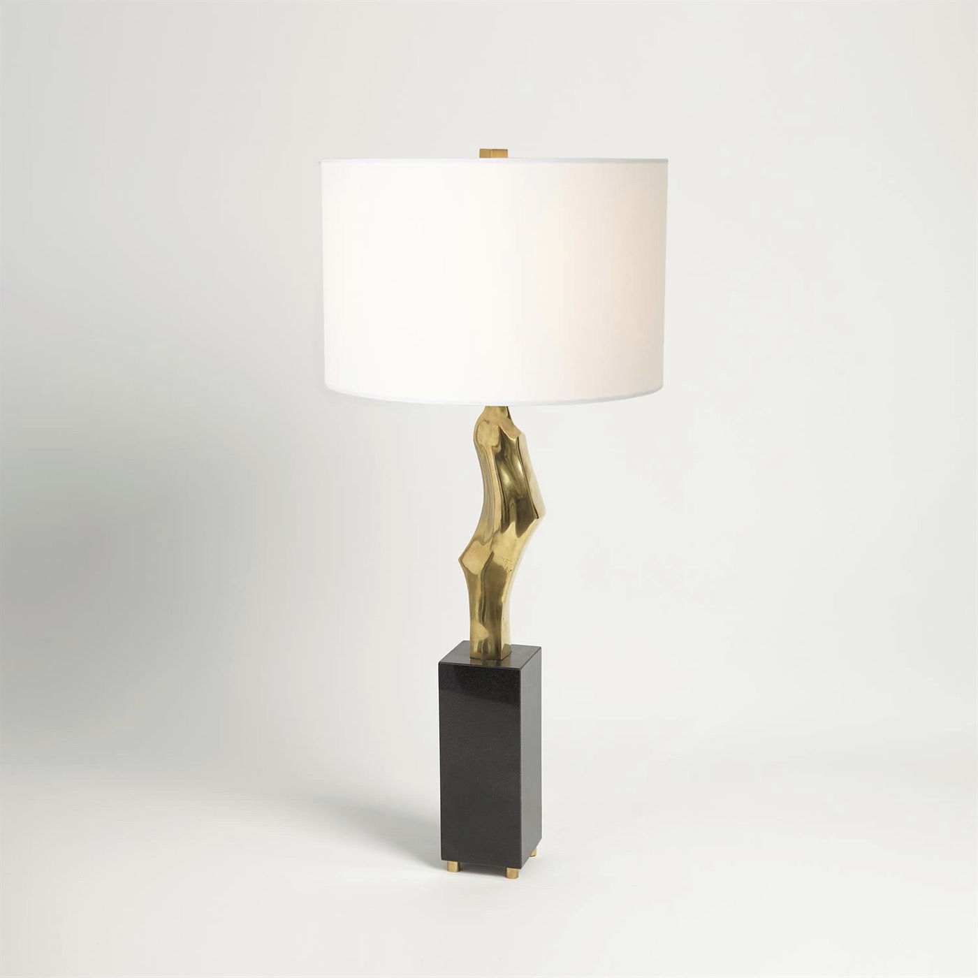 Hawn Conceptual Table Lamp   Brass