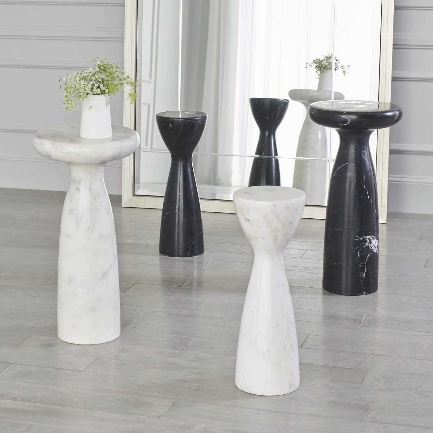 Tornis Marble Side Tables