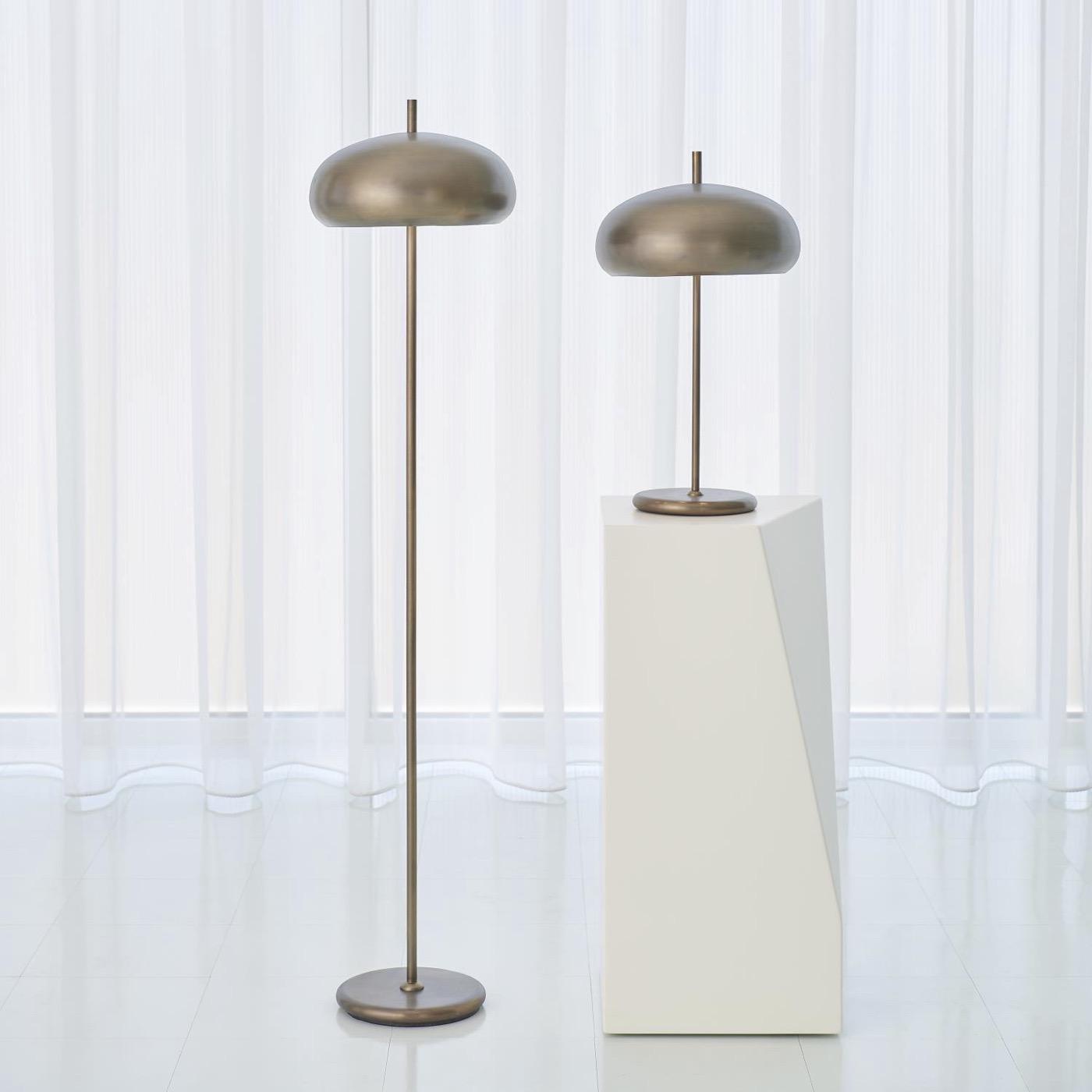 Banks Table Lamp   Bronze