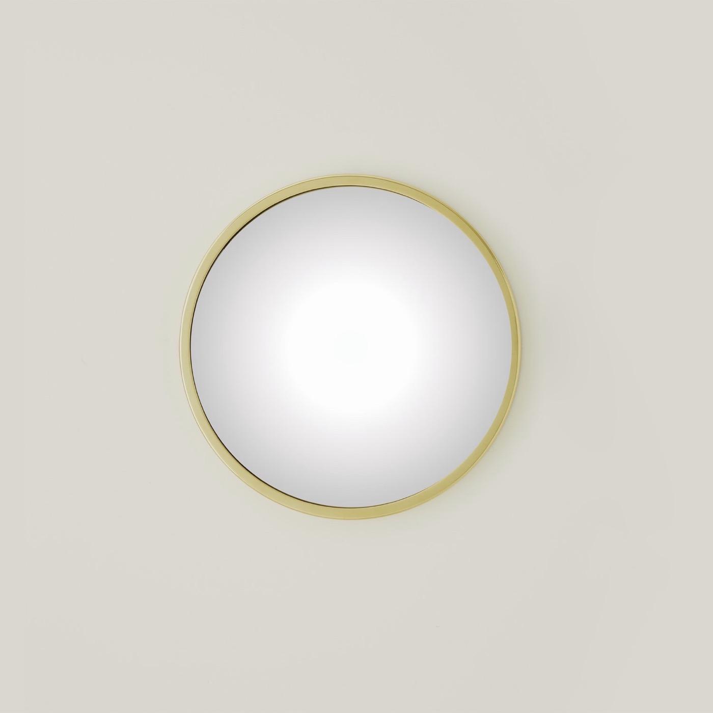 Lamar Wall Mirrors | Brass