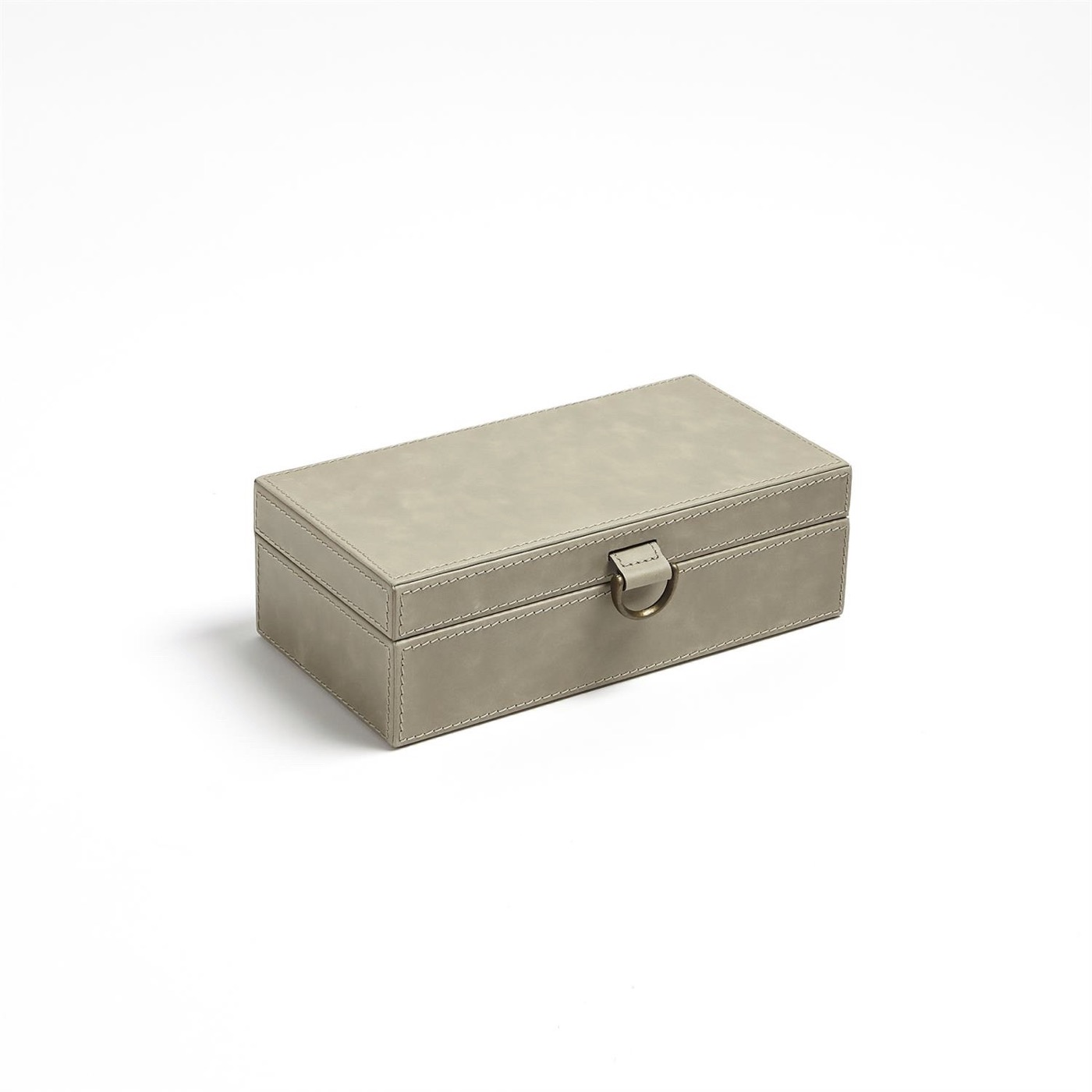 Colton Leather Boxes | Taupe