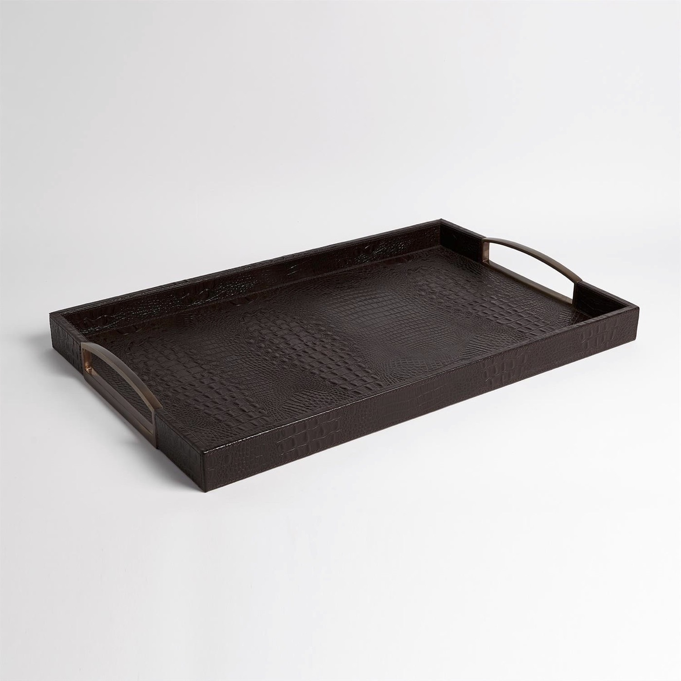 Bindi Leather Trays