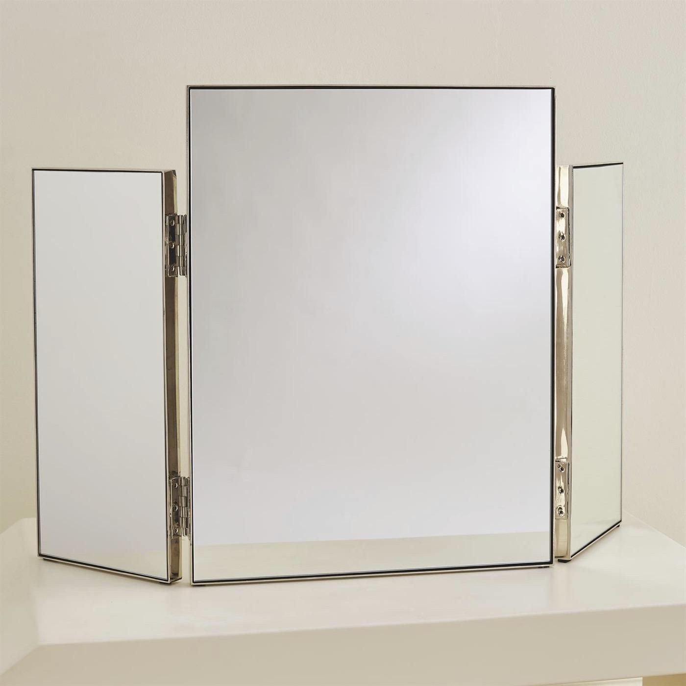 Alfie Vanity Mirror | Nickel