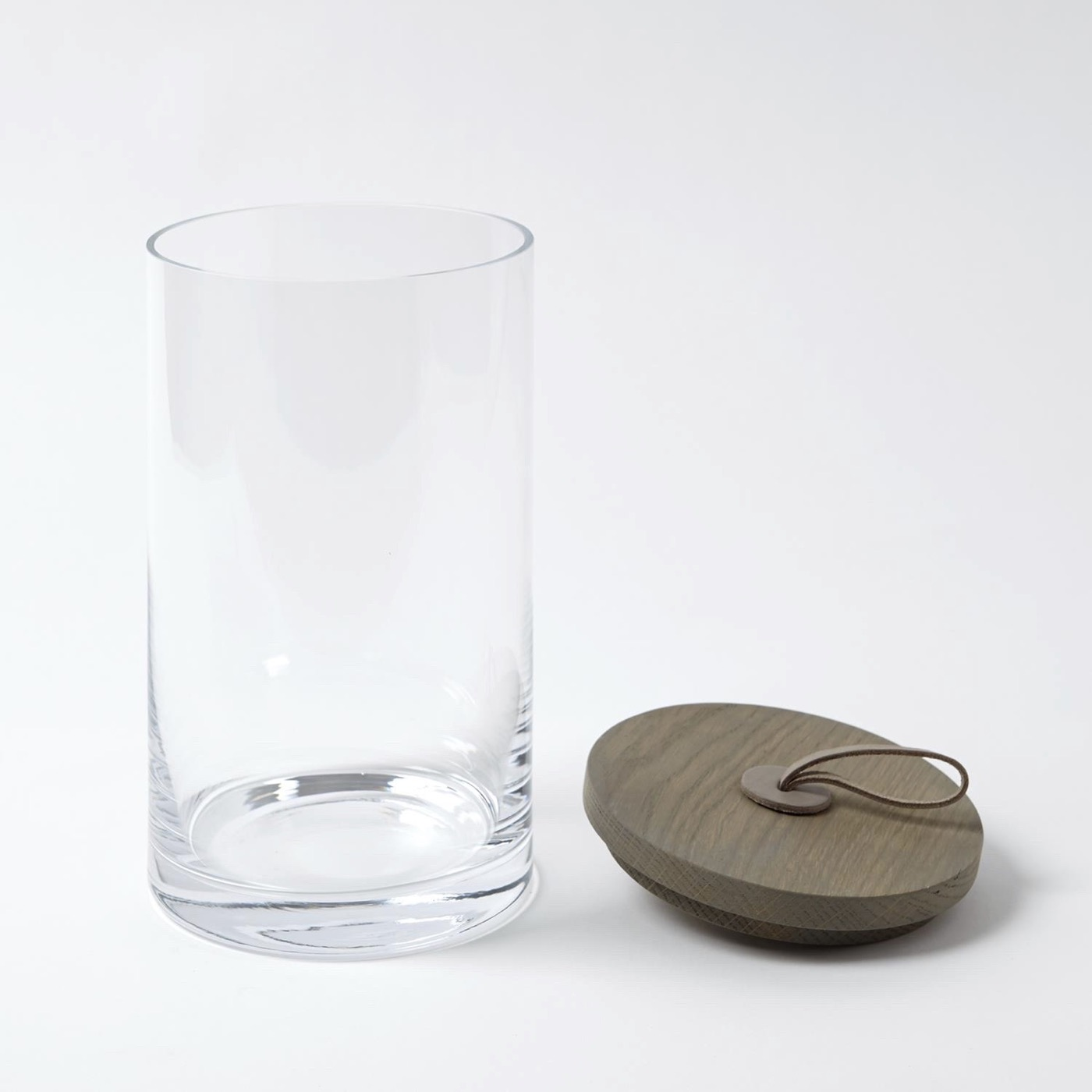 Pastoral Lidded Glass Jars