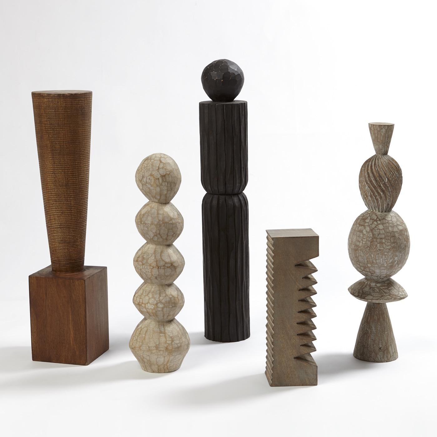 Zimmer Pillar Sculptures