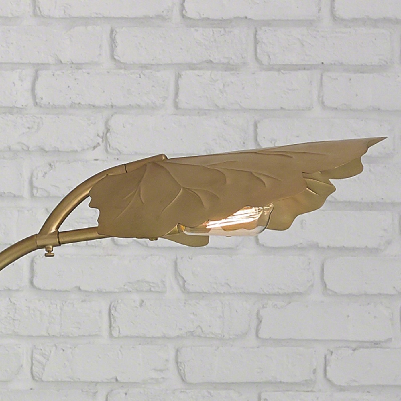 Kokomo Floor Lamp | Brass