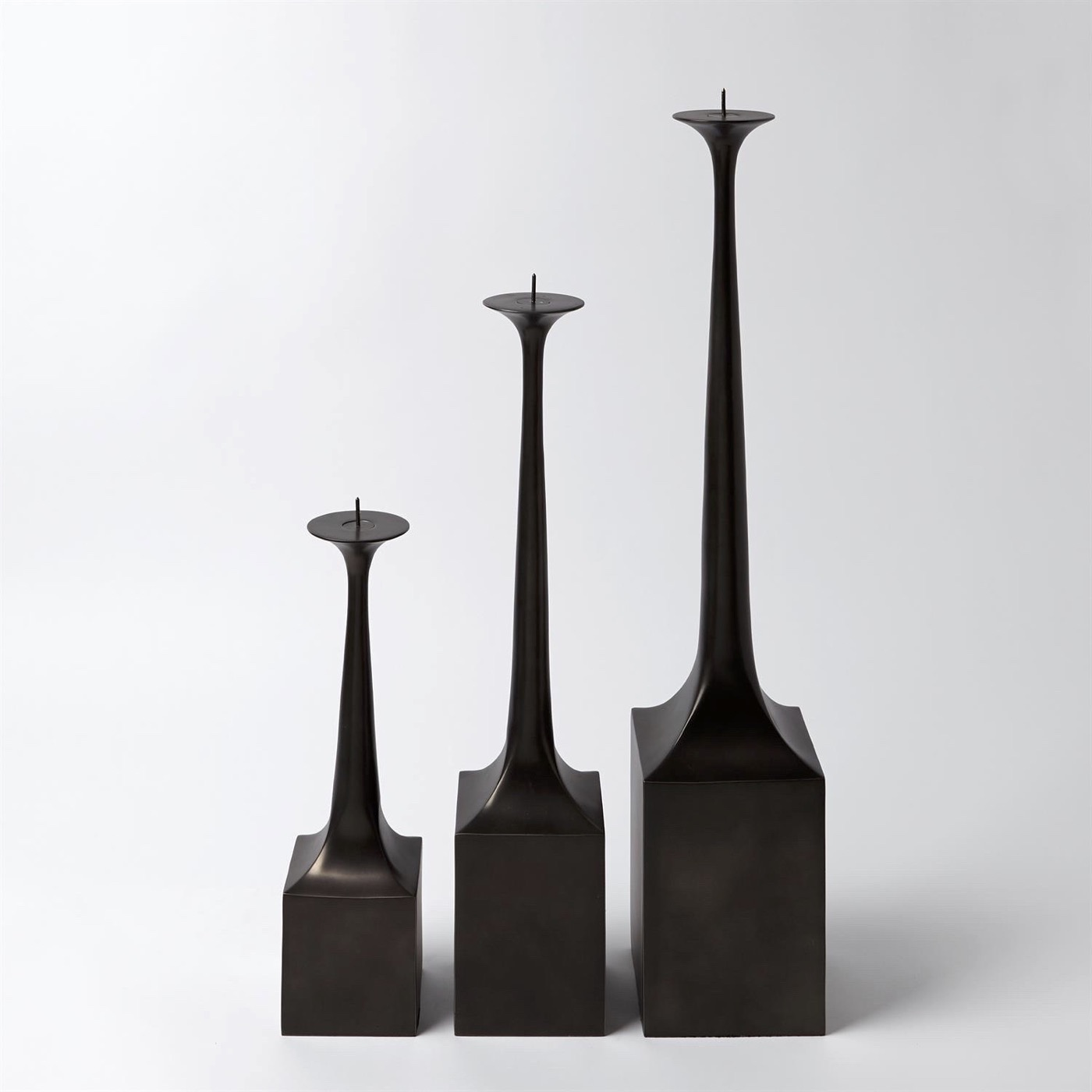 Sparko Candleholders | Bronze