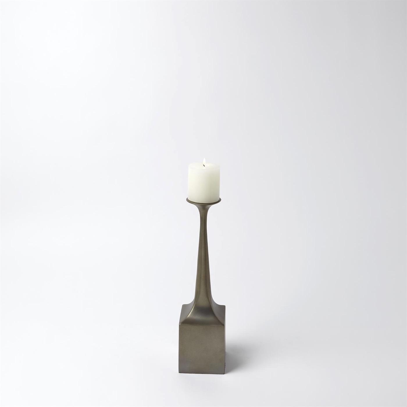 Sparko Candleholders | Pale Bronze