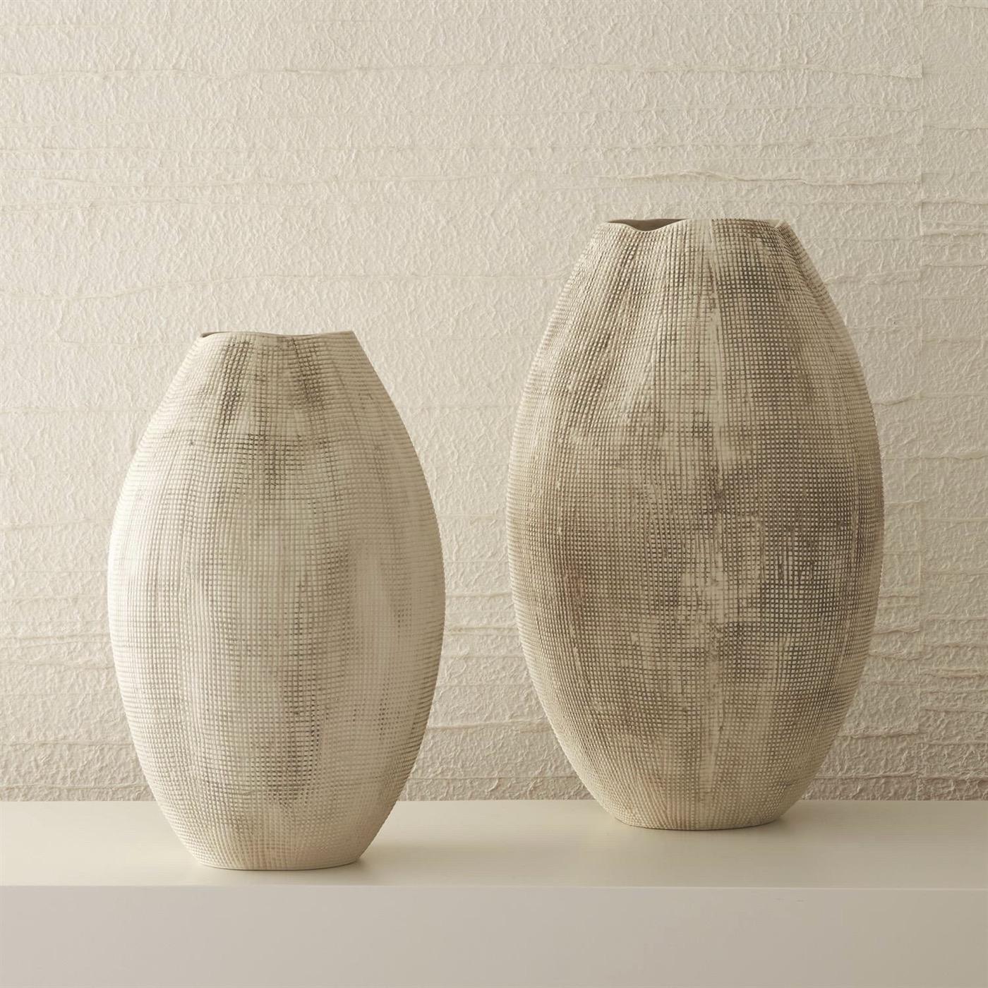 Gridley Ceramic Vases