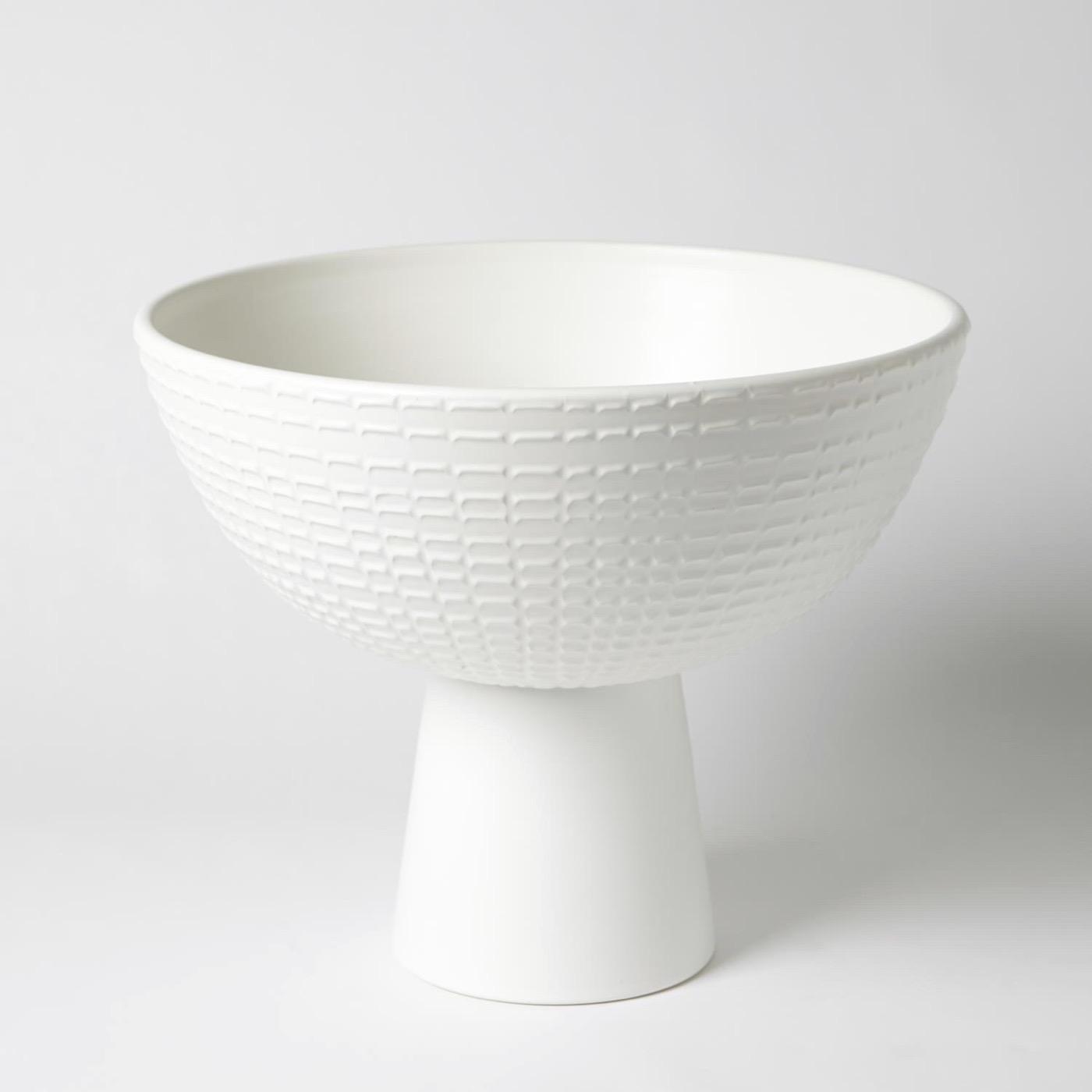 Frida Ceramic Bowl | White